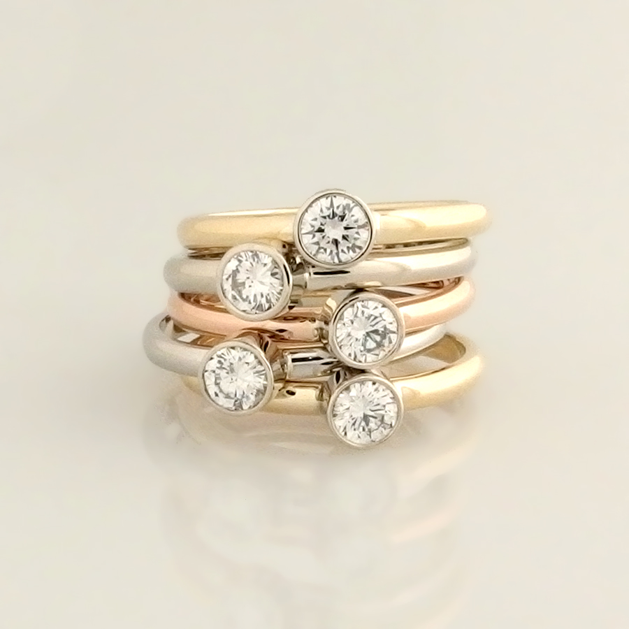 boston wedding modern rings set kreations diamond gallery ring tension jewelry contemporary keezing ma
