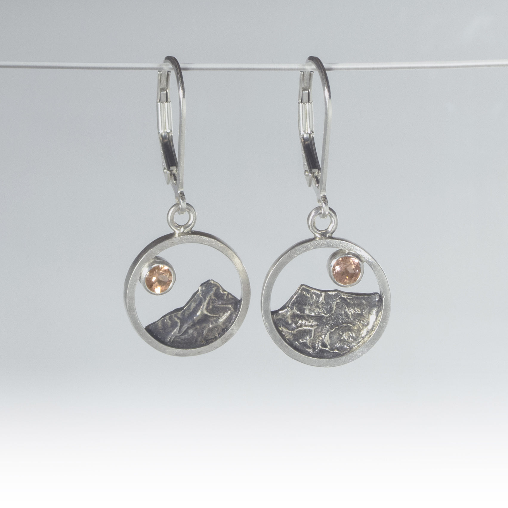 Central Oregon Mountain Earrings