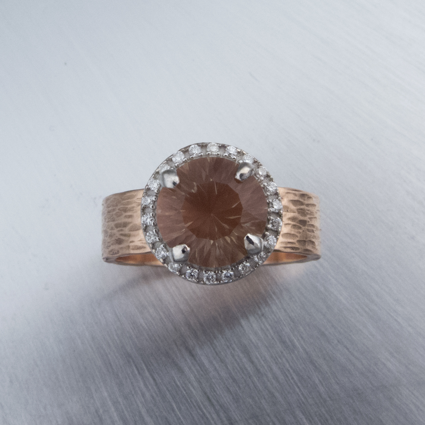 stone sunstone pinterest oregon pin champagne ring sun rings engagement