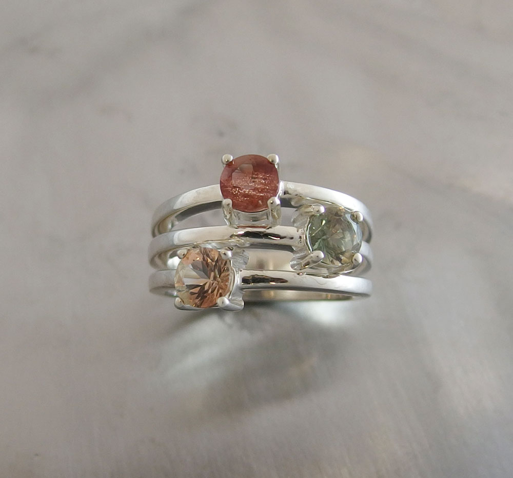 oregon wedding matching band engagement of sun rings ring stone with inspirational sunstone in