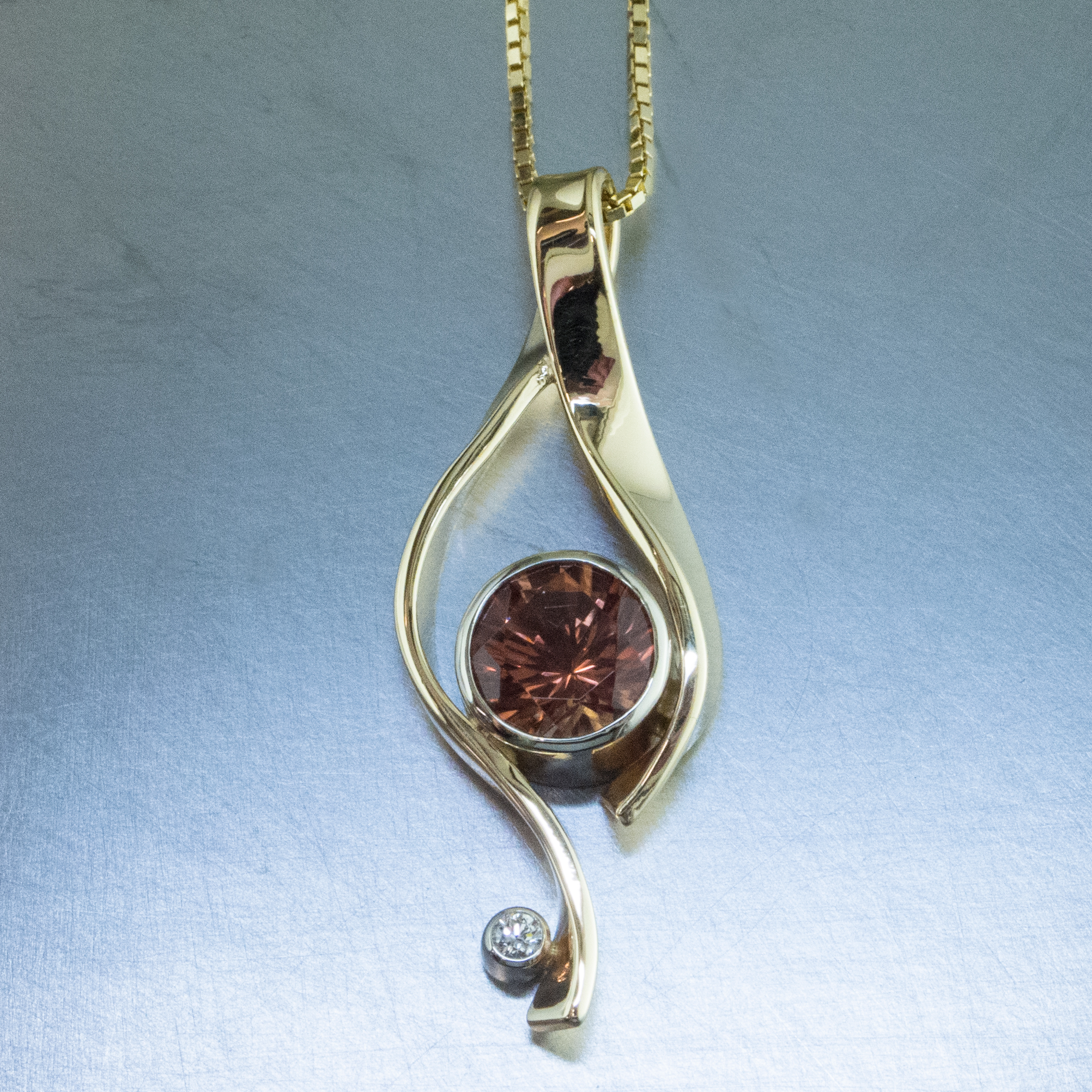 pendant store raw digital silver camera olympus mokume schiller sterling dia sunstone copper and the