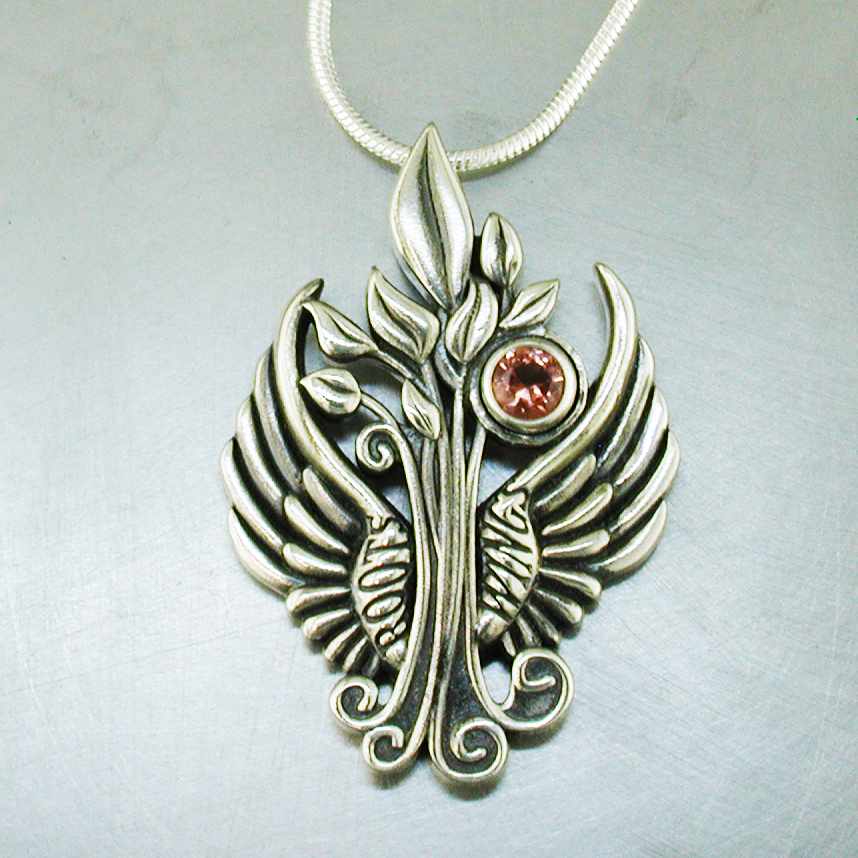 Roots and Wings Tree of Life Pendant