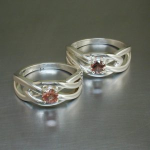 Celtic Sunstone Ring