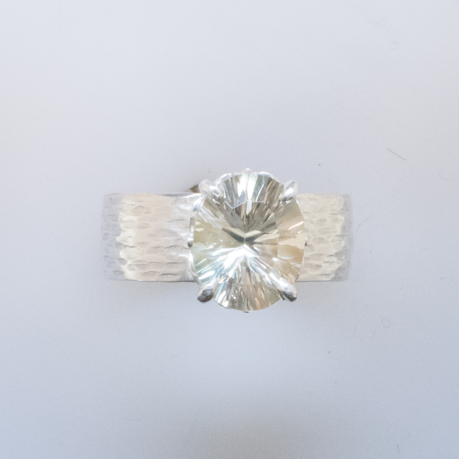 Champagne Sunstone Ring